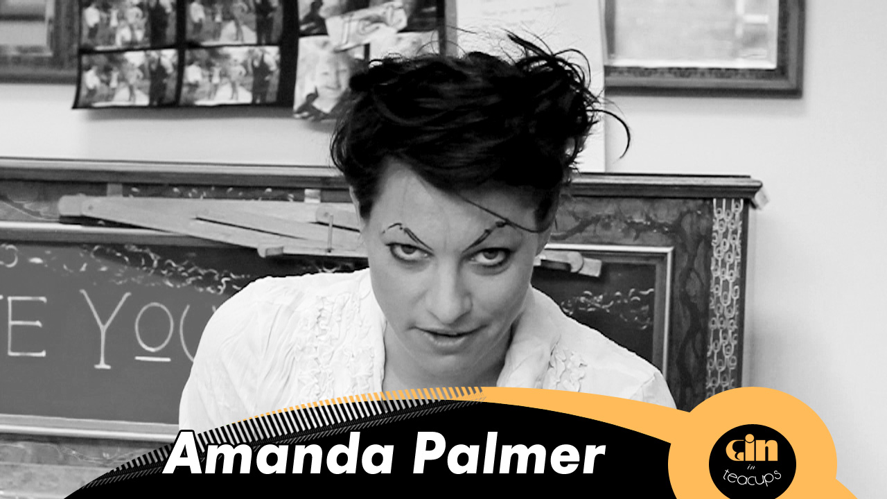 Gin In Teacups session with… Amanda Palmer