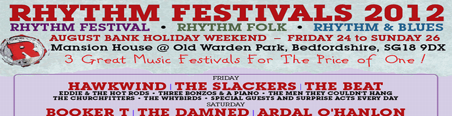 WIN A PAIR of Rhythm Festival Tickets!