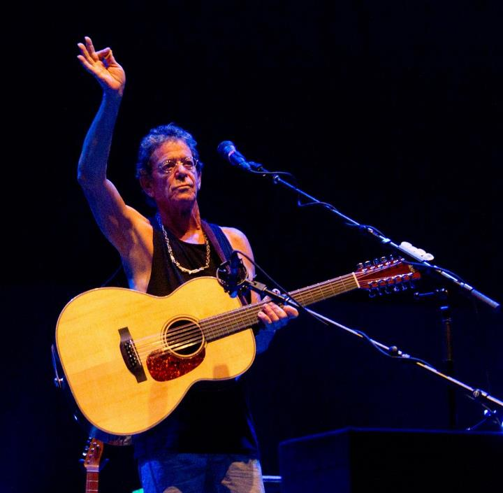 Lou Reed, Meltdown Festival,  Royal Festival Hall, 10/08/12