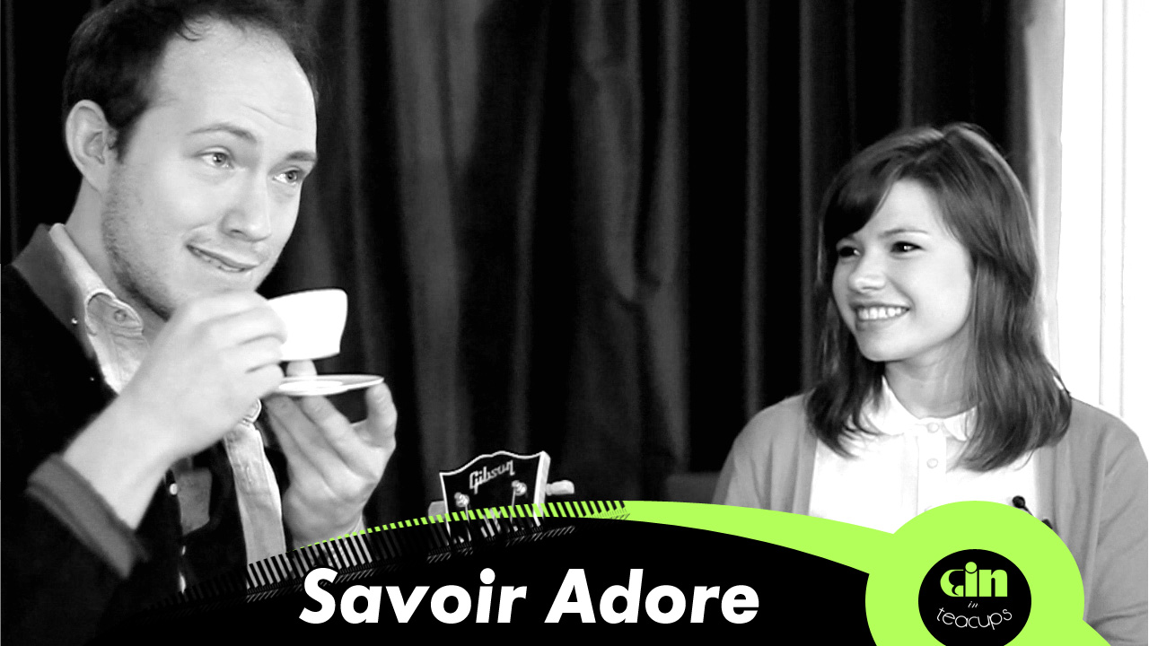 Gin In Tea Cups session with… Savoir Adore