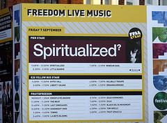 Spiritualized – Freedom Festival, Hull, 7th September 2012