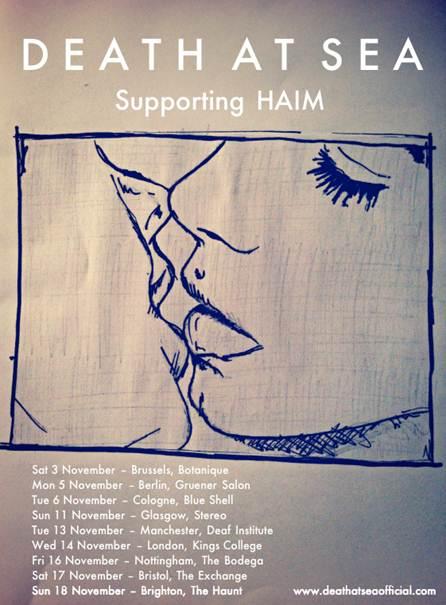 Death At Sea tour w/ Haim and release DRAG (stream)