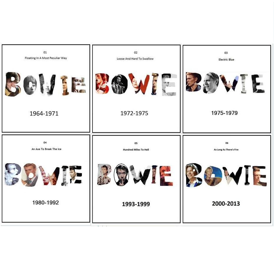 MIXTAPES: Ben P Scott's Best Of Bowie – Parts 1 to 6 – listen