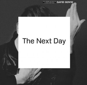 Bowie Month: Next Day LP cover