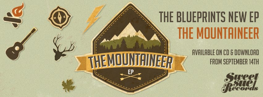 The Blueprints – The Mountaineer EP (Sweet Sue Records)