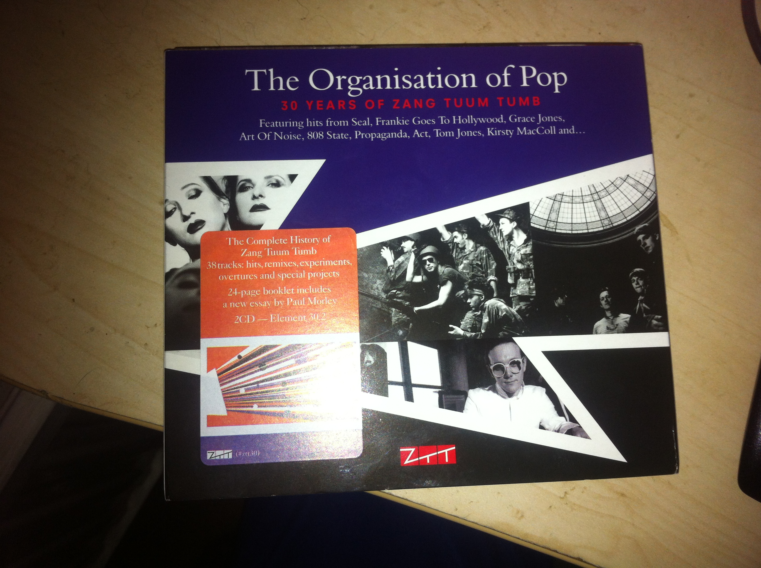 Various Artists – 'The Organisation Of Pop: 30 Years Of Zang Tuum Tumb' (ZTT Records)