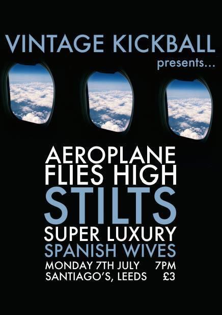 PREVIEW: Aeroplane Flies High at Santiago Bar, Leeds, 7th July 2014