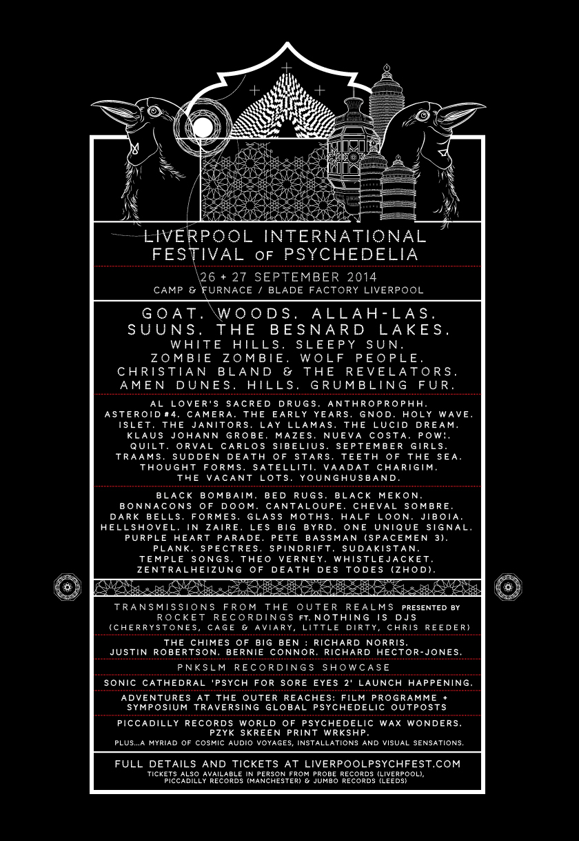 NEWS: Liverpool Psych Fest announces more acts