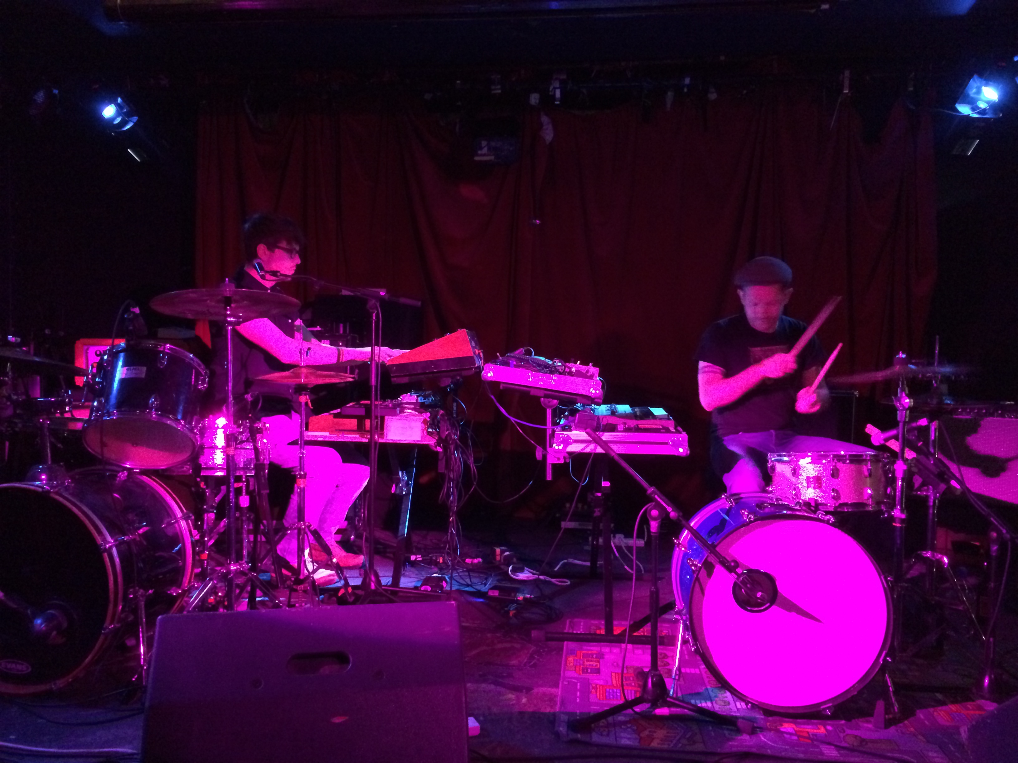 Codes In The Clouds / AK/DK / Those Amongst Us Are Wolves – The Water Rats, London 30th May 2014