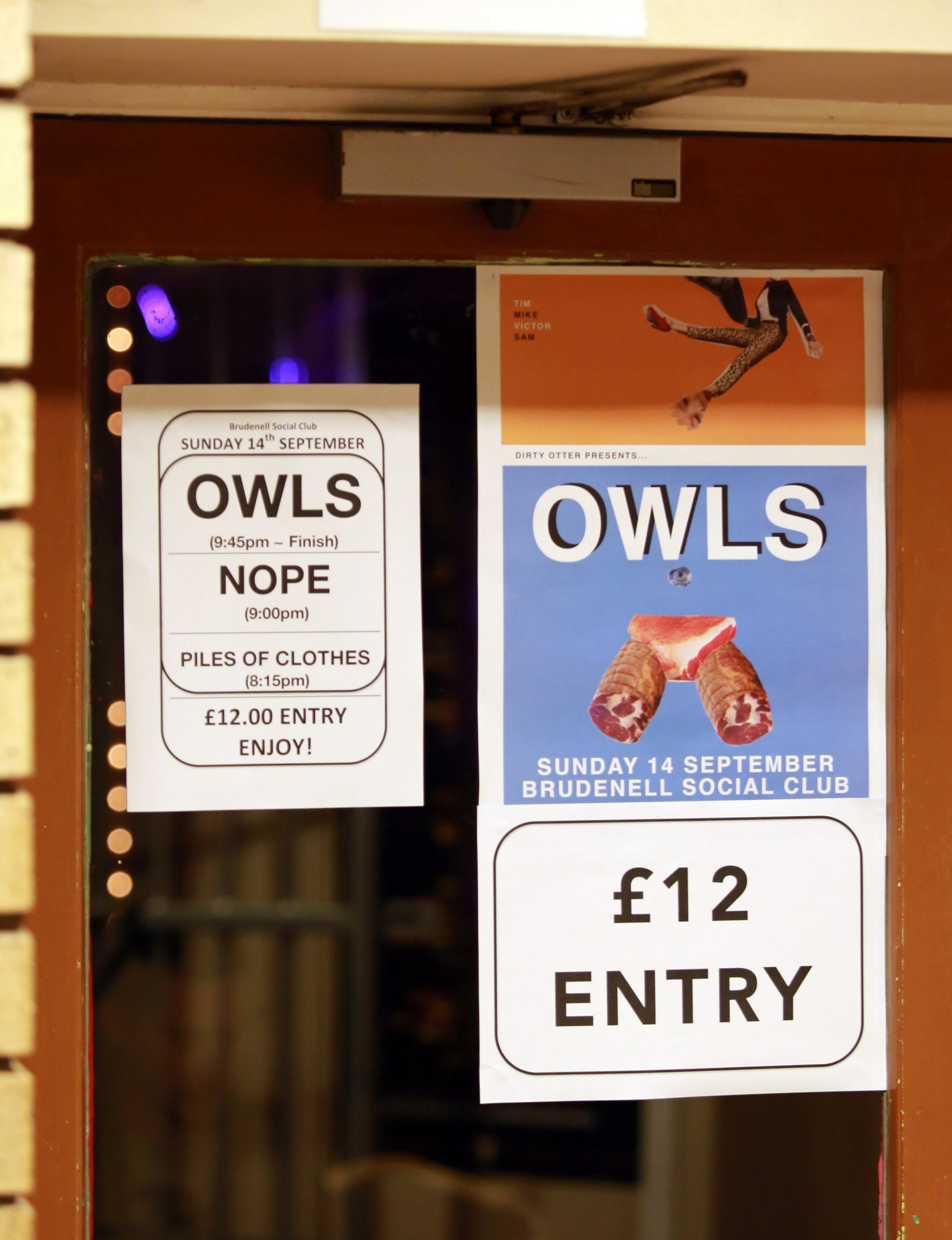 Owls & Nope – Brudenell Social Club, Leeds, 14th September 2014