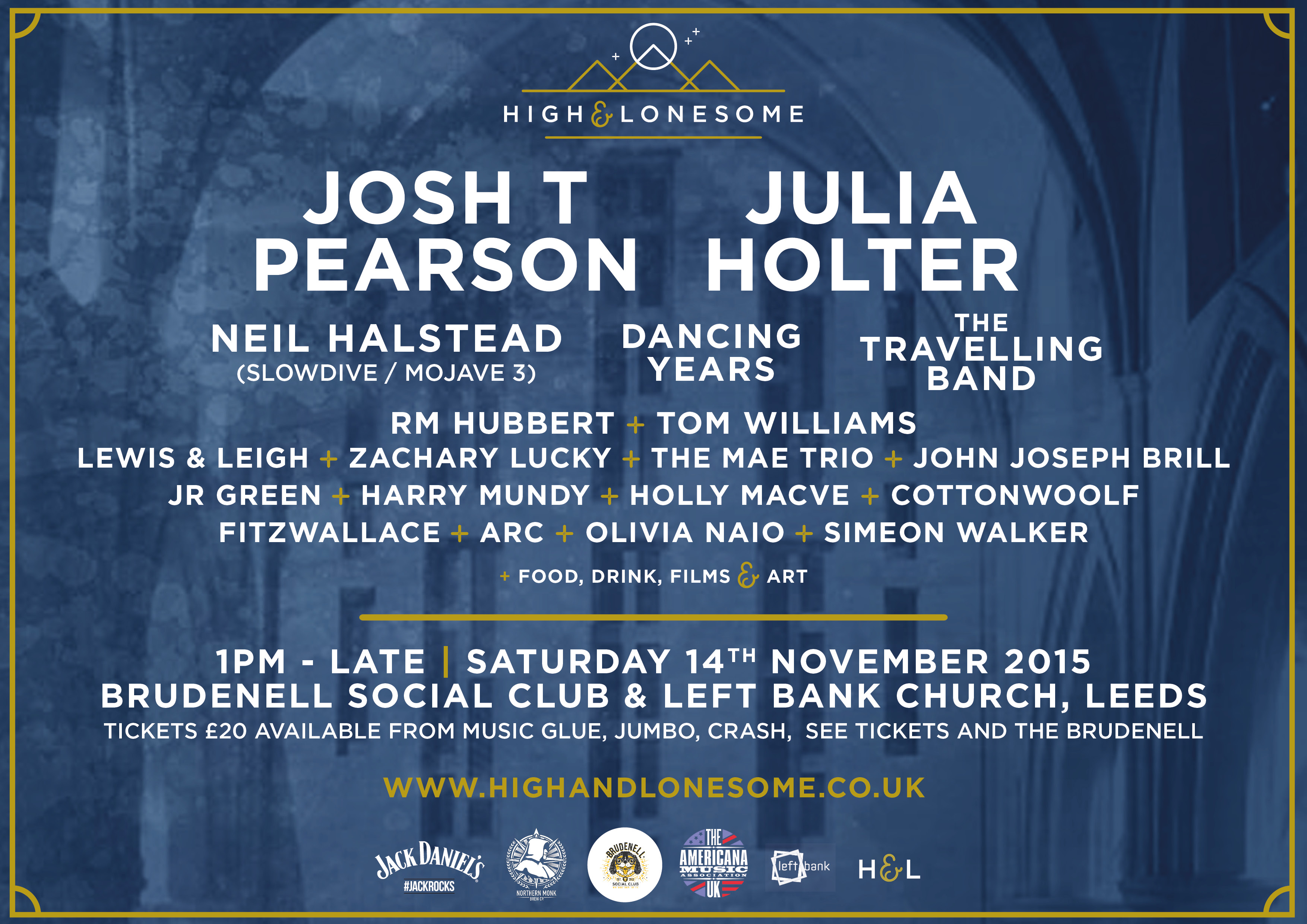 NEWS: High & Lonesome announces its full line-up