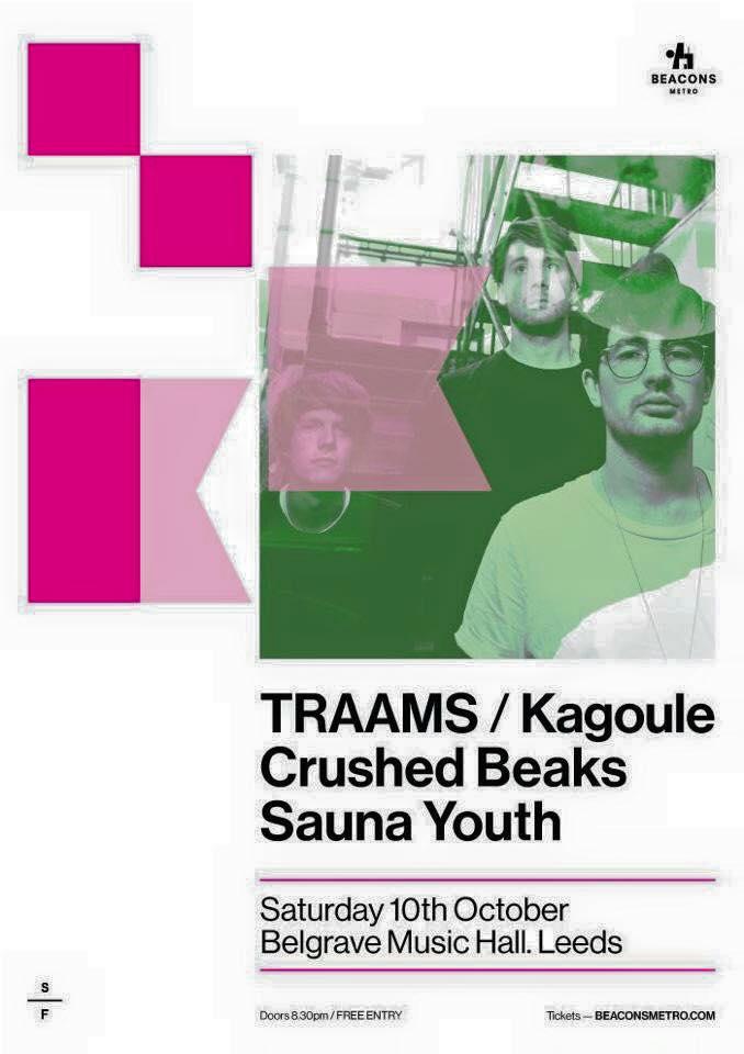 TRAAMS – Belgrave Music Hall, Leeds, 10th October 2015
