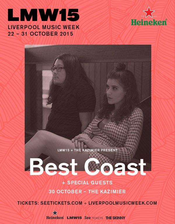Best Coast – The Kazimier, Liverpool, 30th October 2015