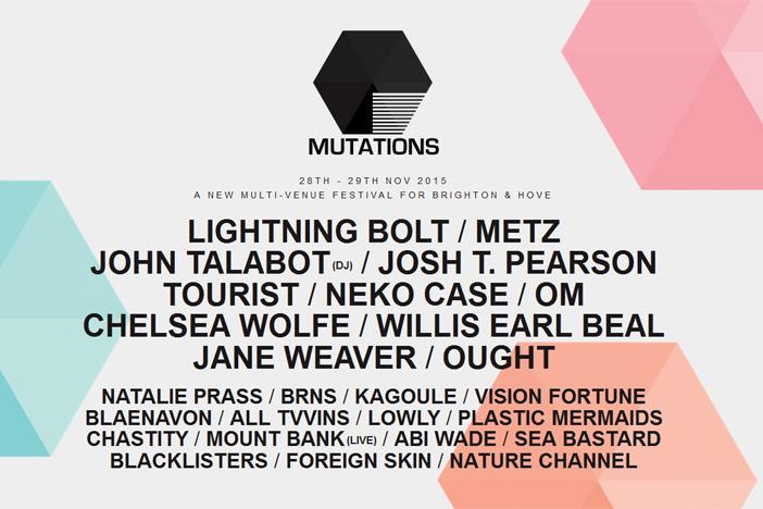Mutations Festival 2015 Brighton