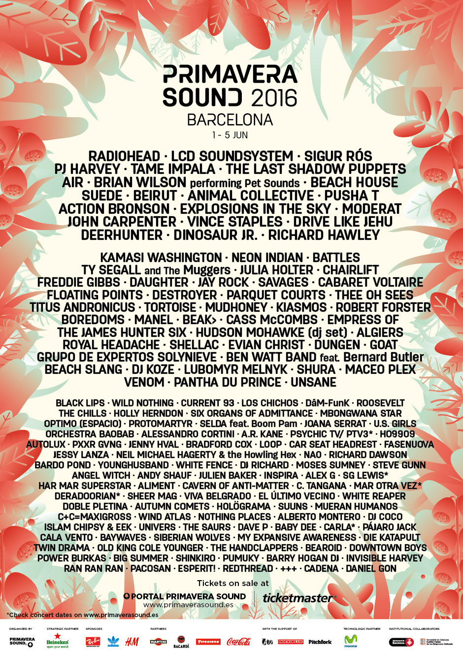 NEWS: Primavera Sound 2016 line-up revealed