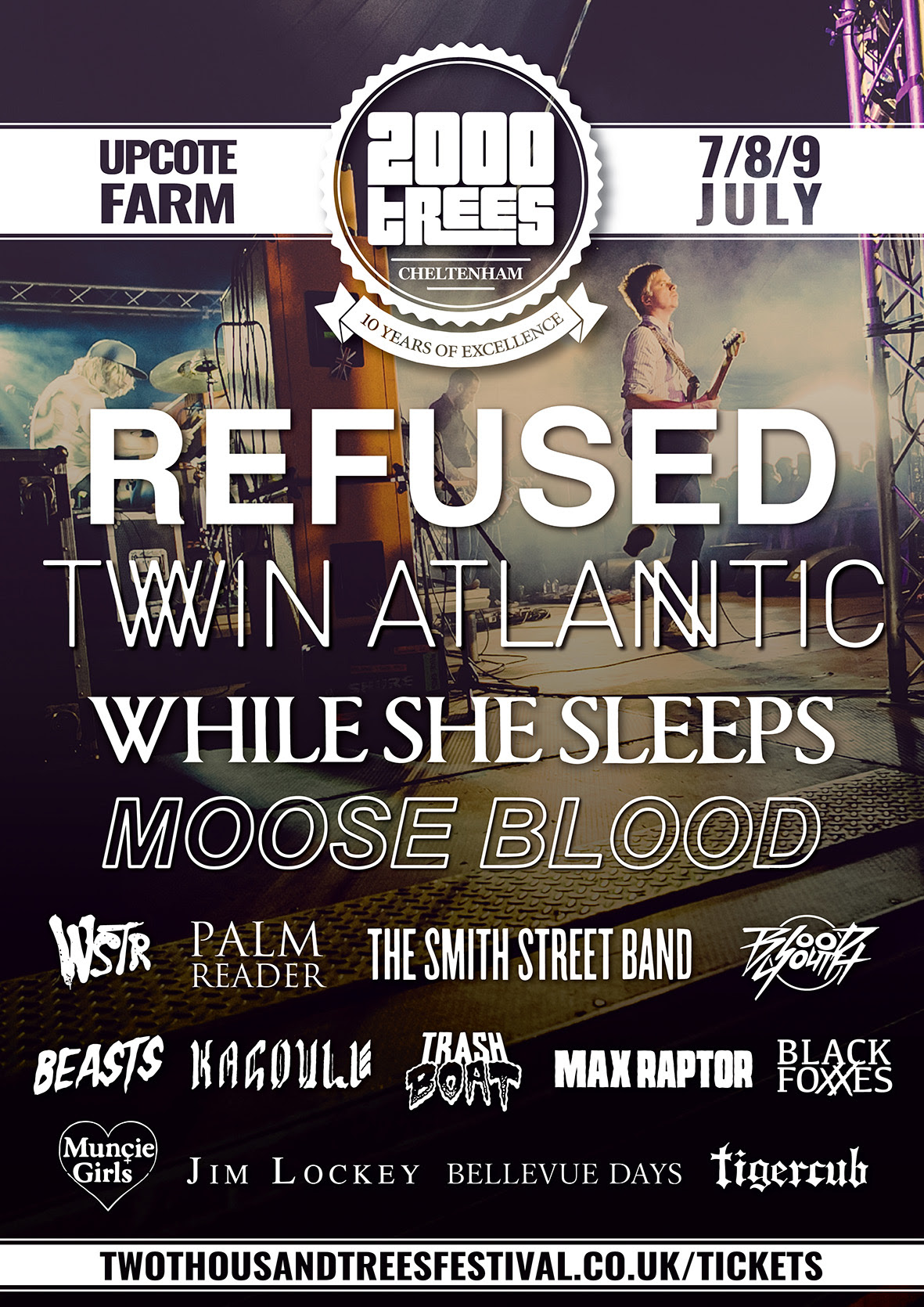 NEWS:  2000trees Festival 2016 first line-up and headliner announcement