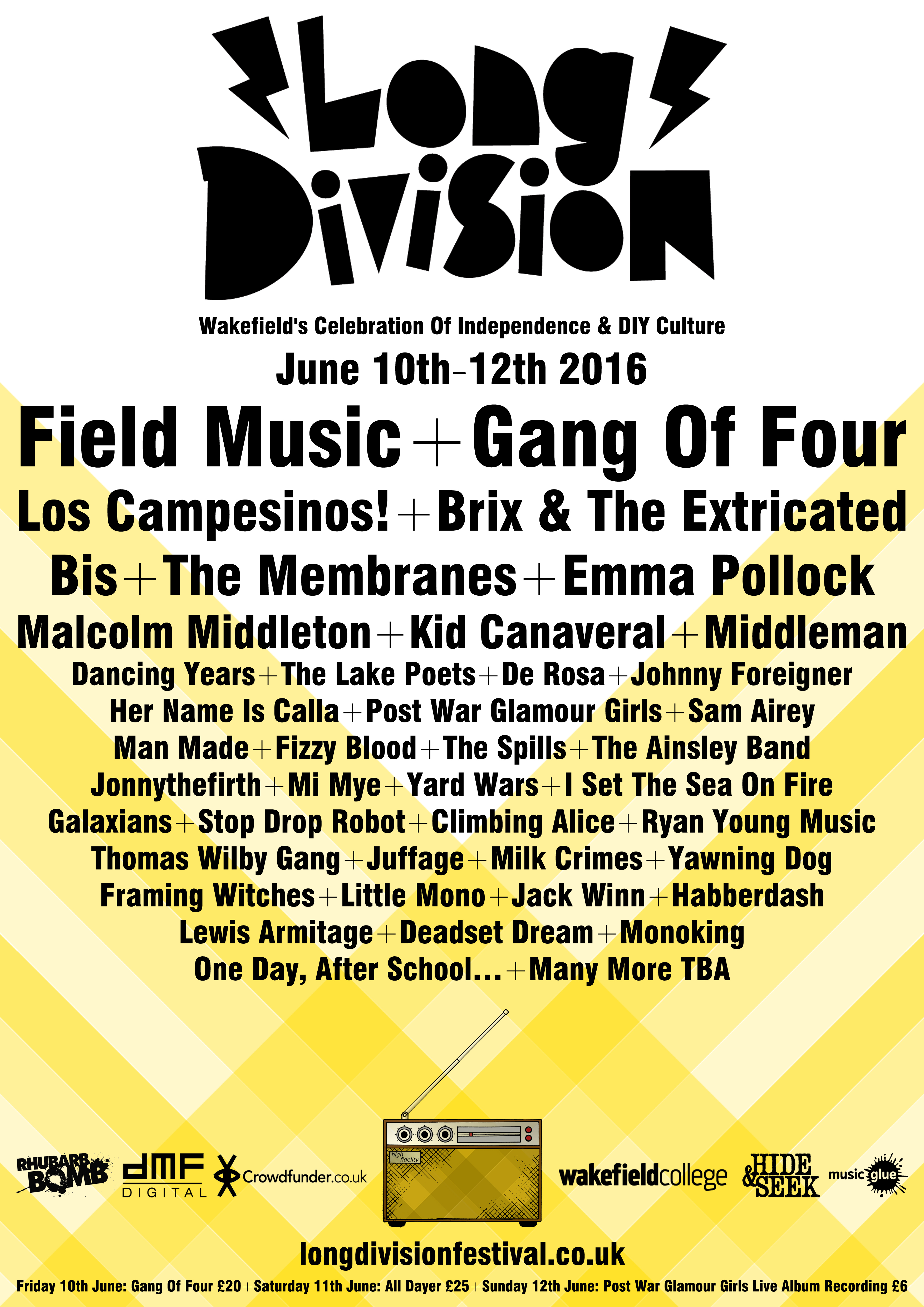 NEWS: 41 more acts revealed for Long Division 2016