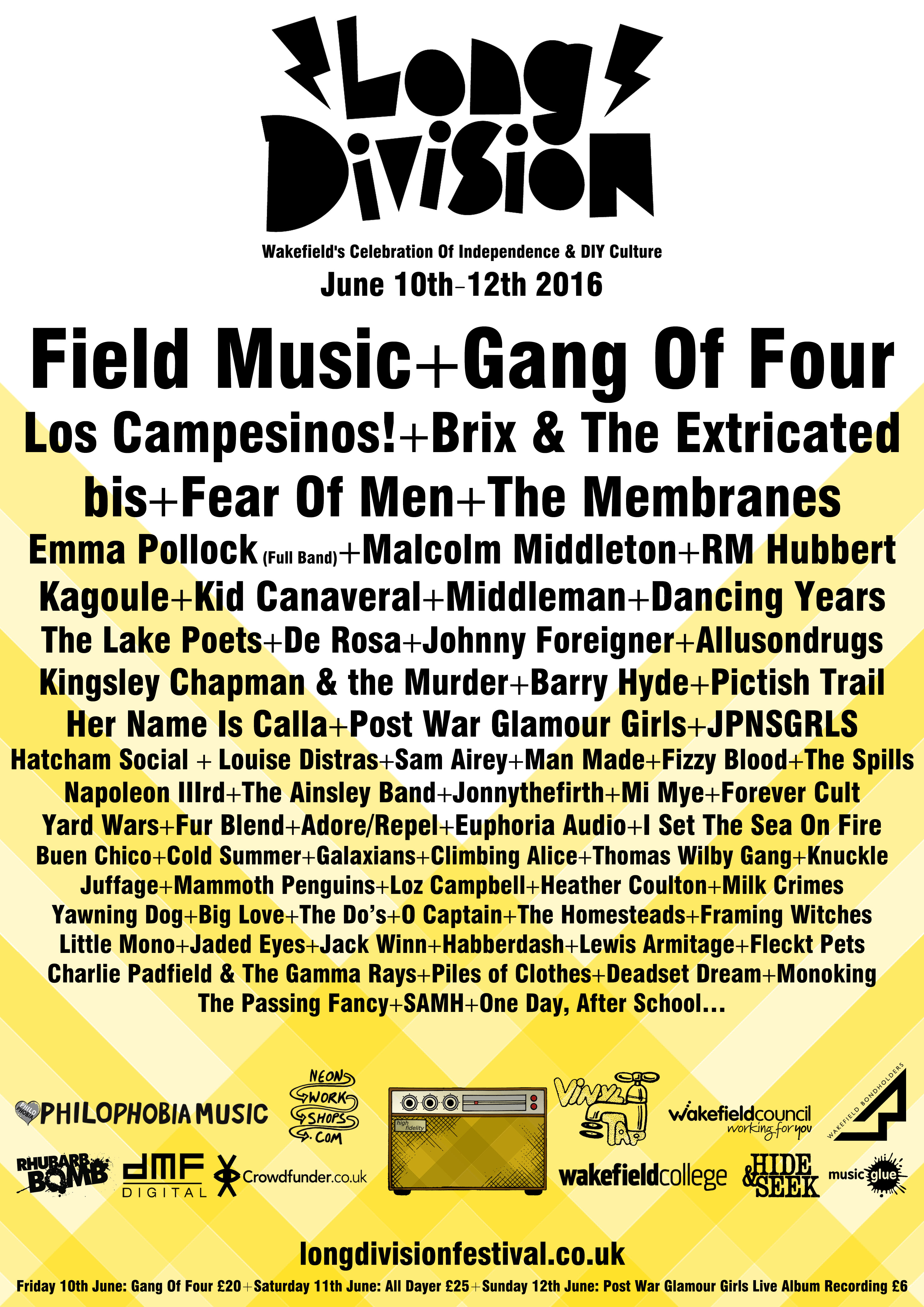 NEWS: Long Division reveals a further 28 acts for this year's festival