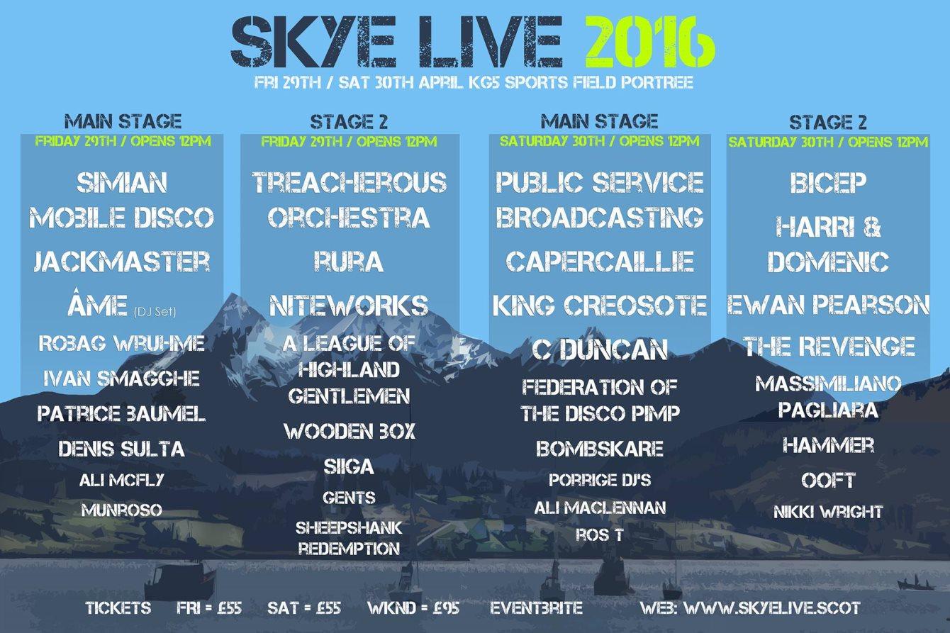 FESTIVAL REPORT: Skye Live 2016
