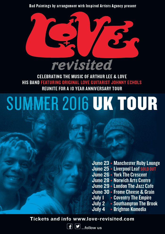PREVIEW: LOVE Revisited 10th anniversary UK tour