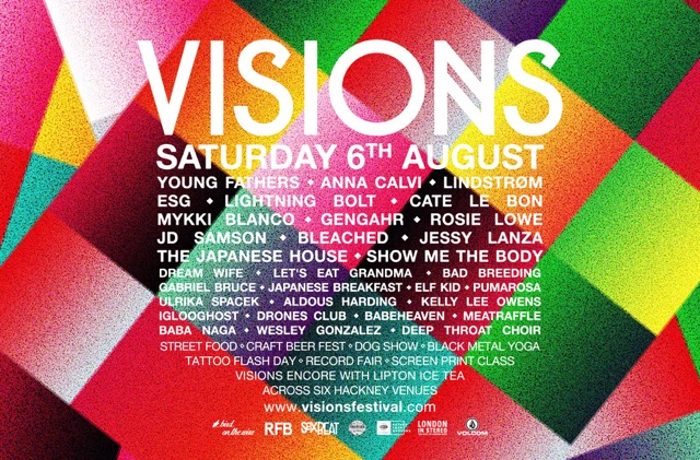 NEWS: Visions Festival announces final music acts