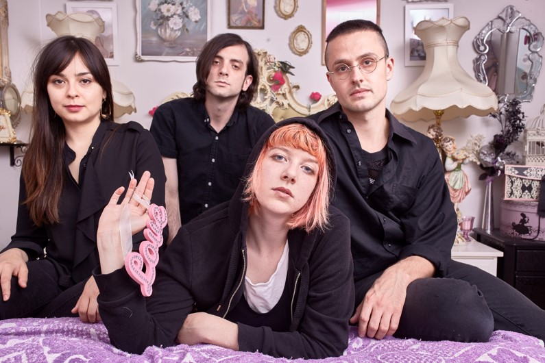 NEWS: Dilly Dally announce remix EP 'fkkd,' share 'Desire' rework by CRIM3S