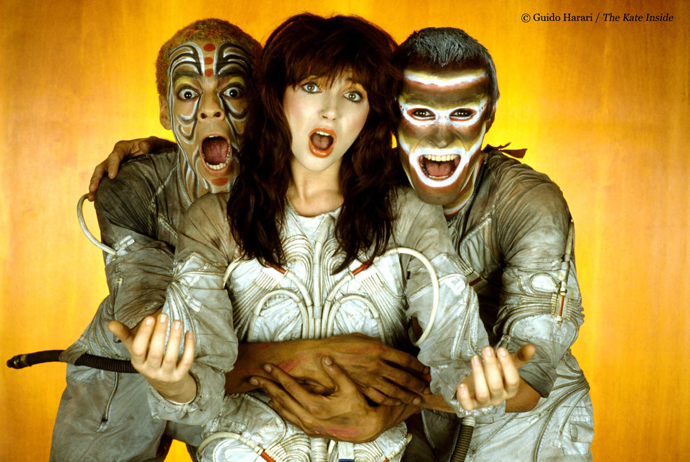 NEWS: New images from Kate Bush book 'The Kate Inside' revealed