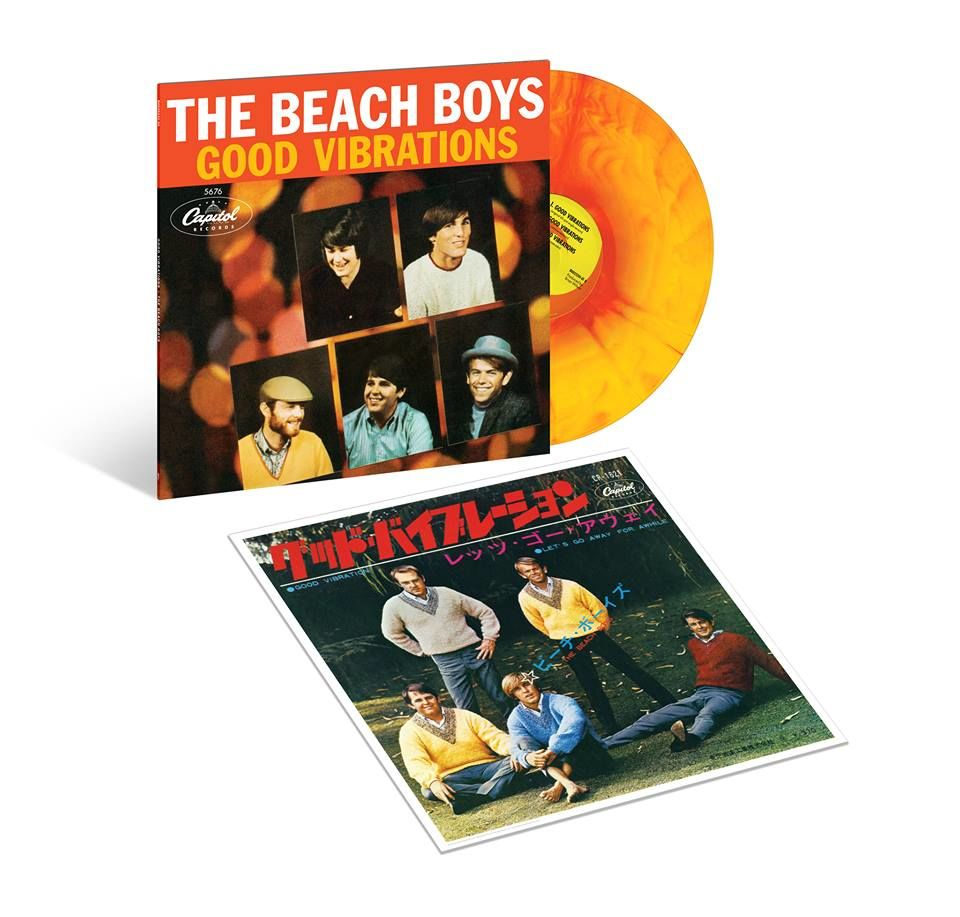 NEWS: The Beach Boys to celebrate 50 years of 'Good Vibrations' with commemorative vinyl
