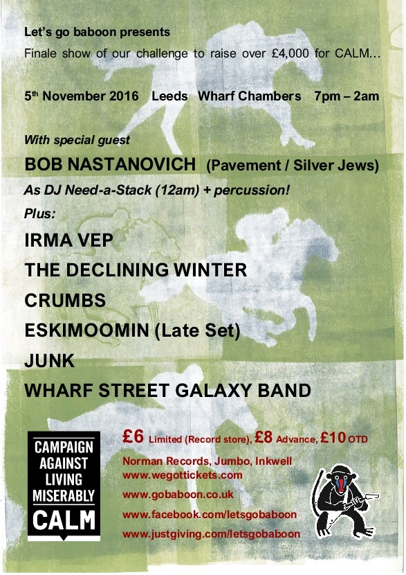 PREVIEW: the last fundraising show of the year for CALM