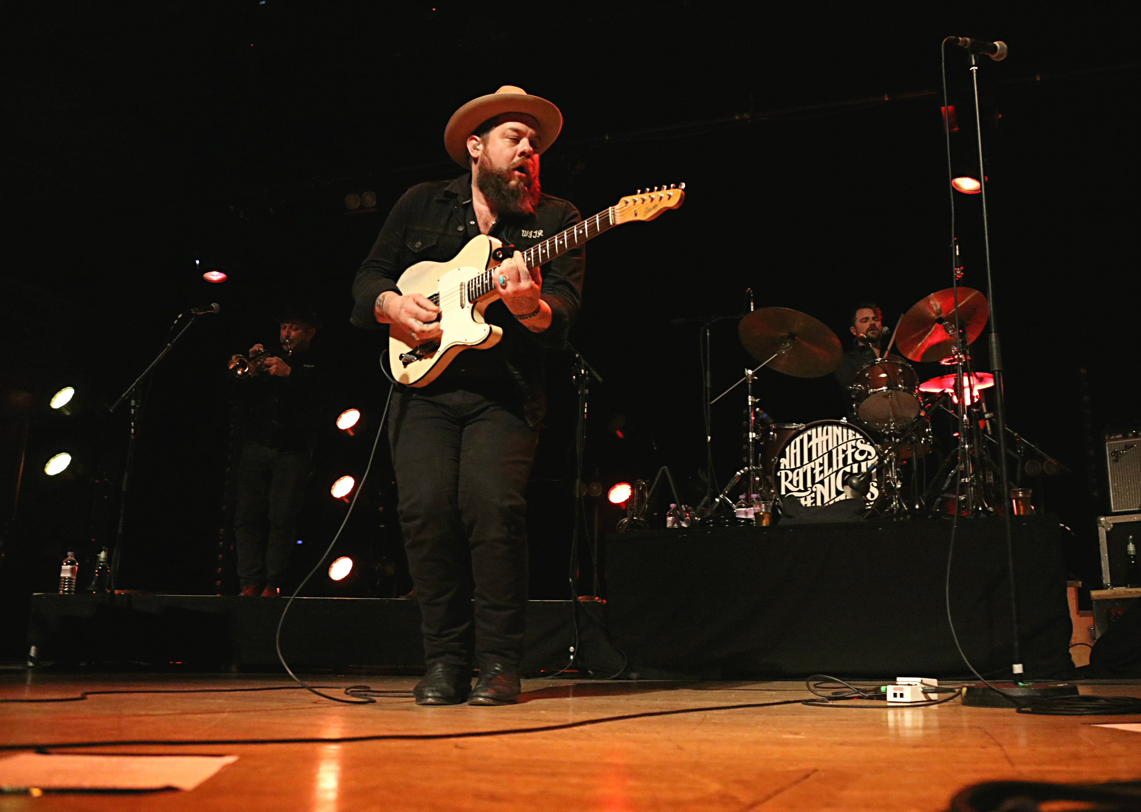 Nathaniel Rateliff and the Night Sweats, De Montfort Hall, Leicester, 17/11/2016