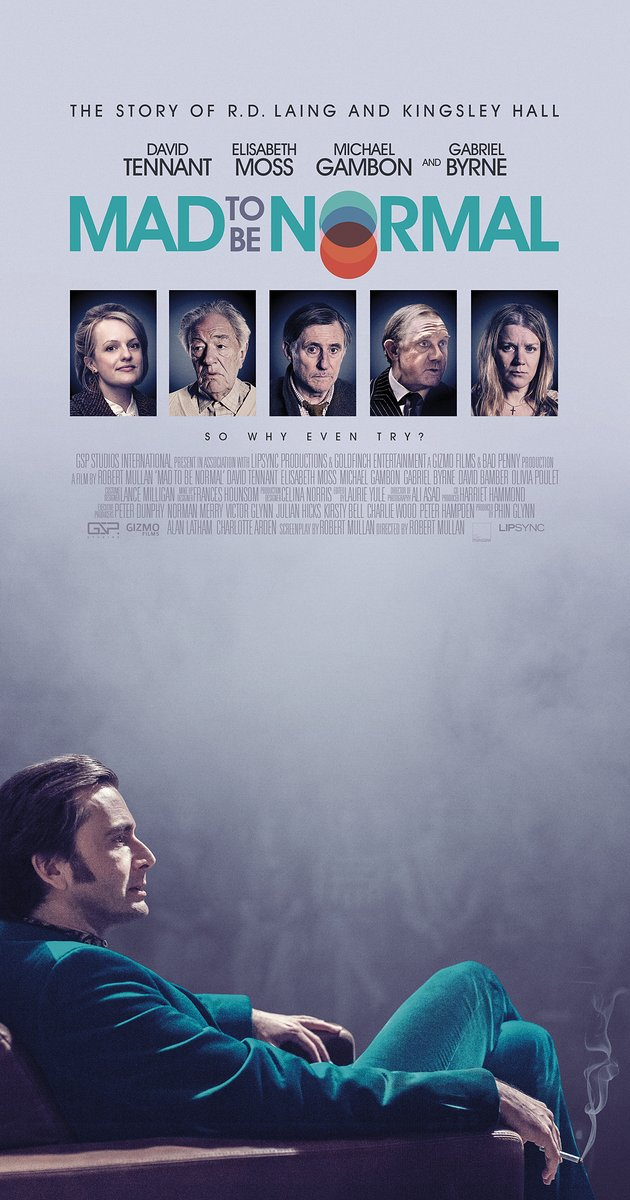 FILM: Mad To Be Normal (Robert Mullan – Glasgow Film Festival 2017)