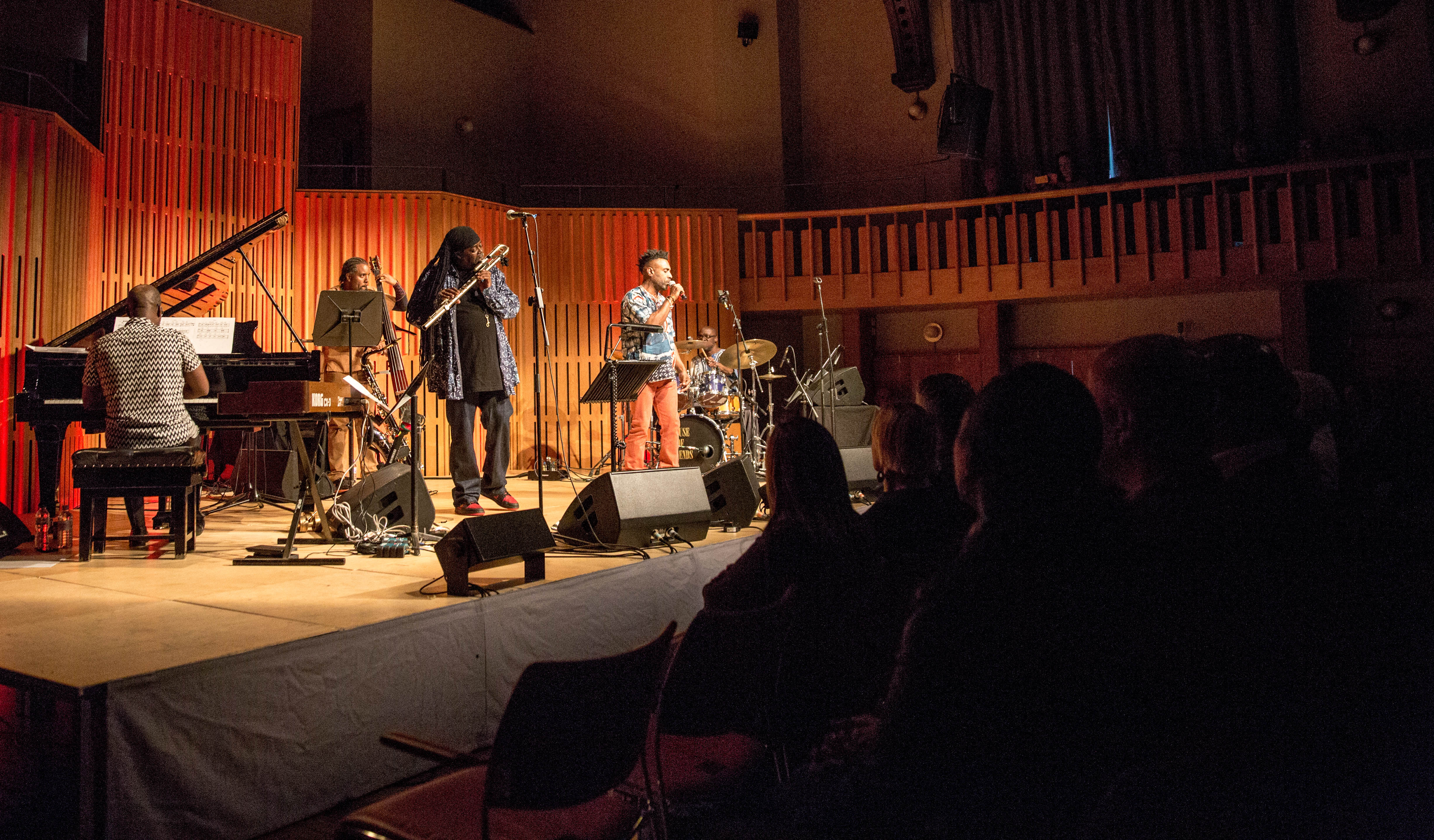 Courtney Pine featuring Omar – Howard Assembly Room, Leeds, 19/04/2017