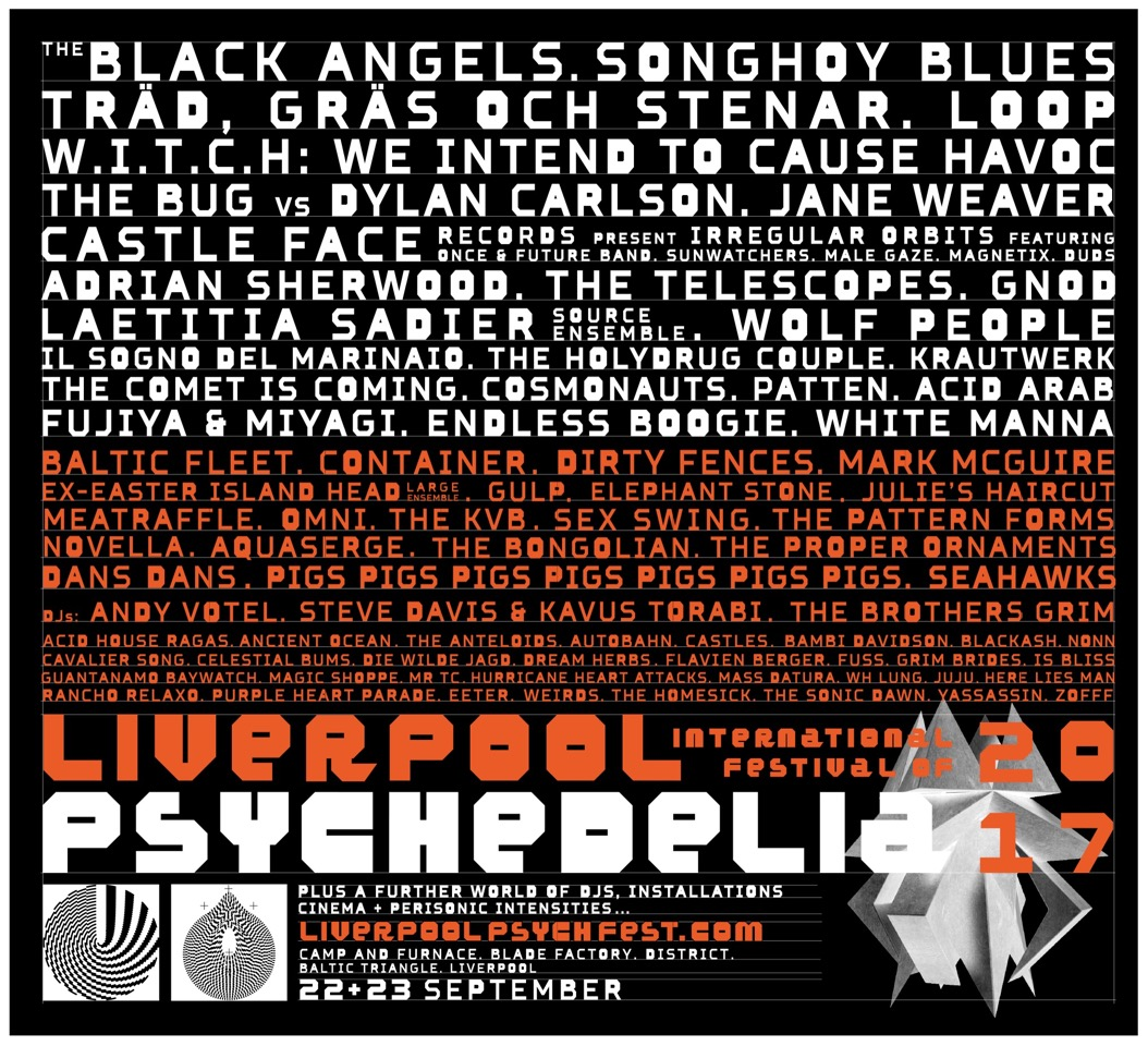 NEWS: Liverpool Psych Fest 2017 -Final Line up Revealed