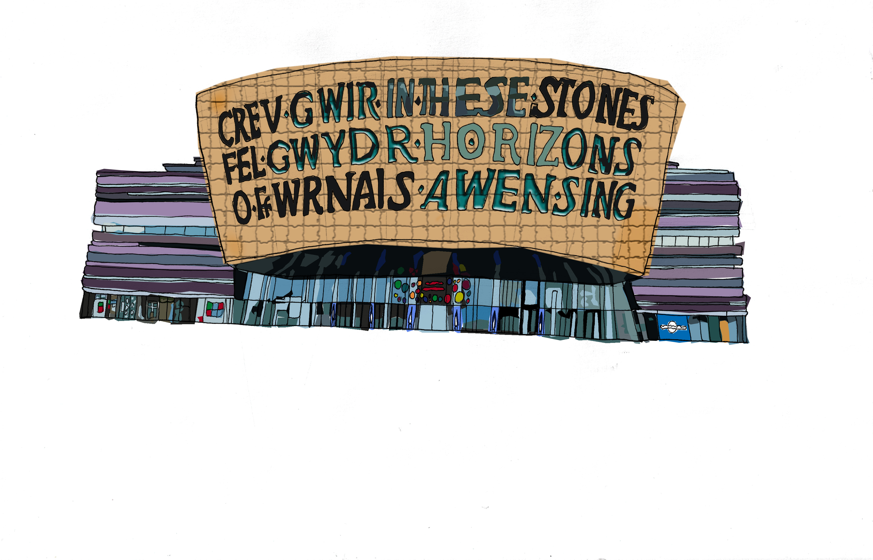 NEWS: Illustrated Map of Cardiff Venues Launched