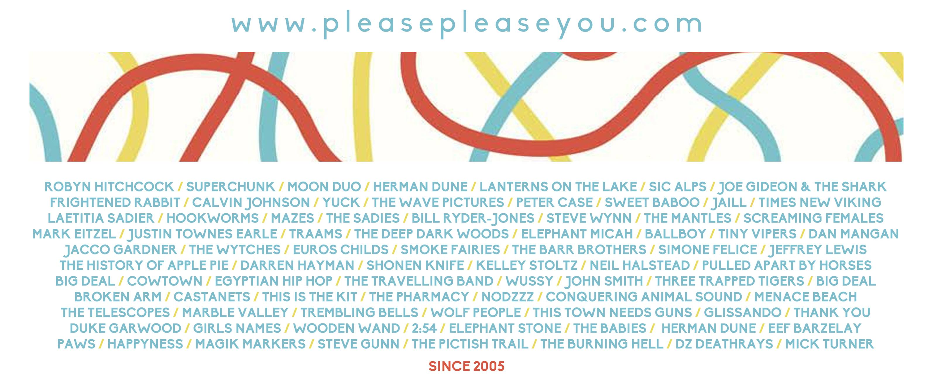 PREVIEW: forthcoming shows from Please Please You