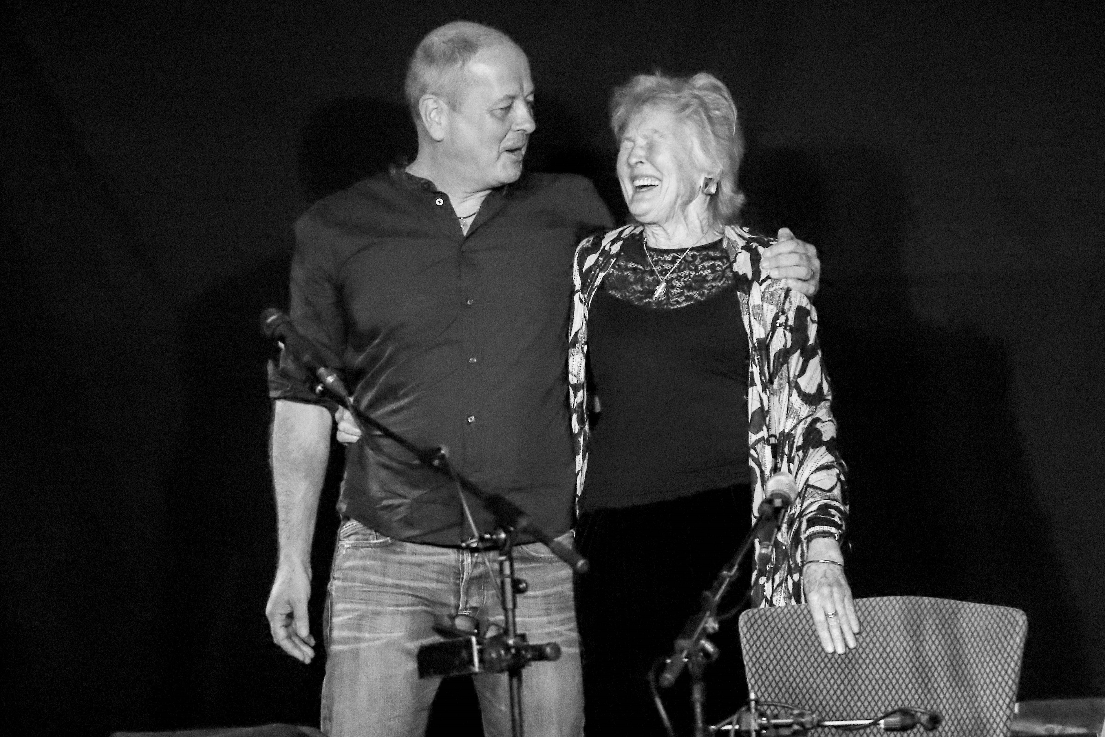 Peggy Seeger with Calum MacColl – The Crescent, York, 27/11/2017