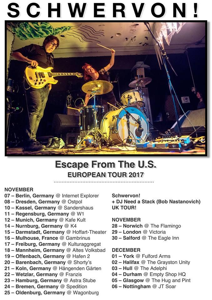 PREVIEW: Schwervon! UK tour