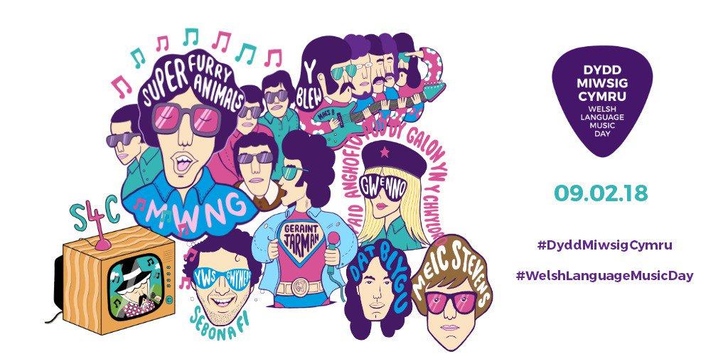 PLAYLIST: Welsh Language Music Day 2018