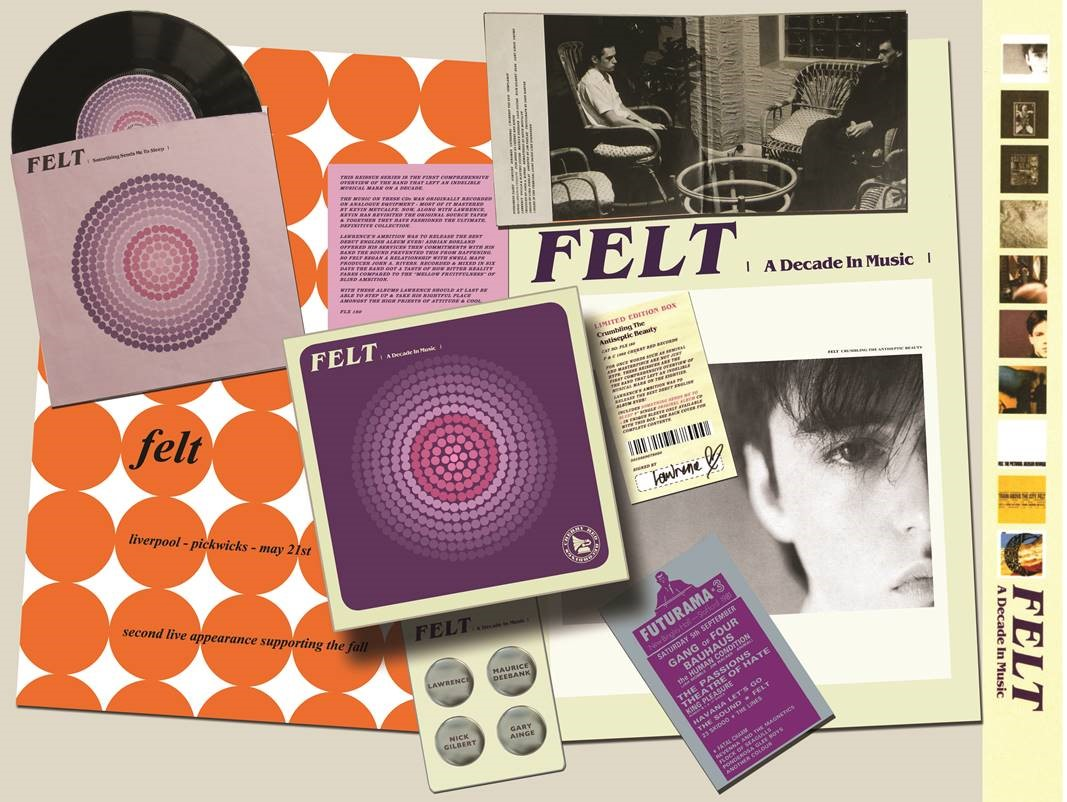 Felt – A Decade In Music (Cherry Red)