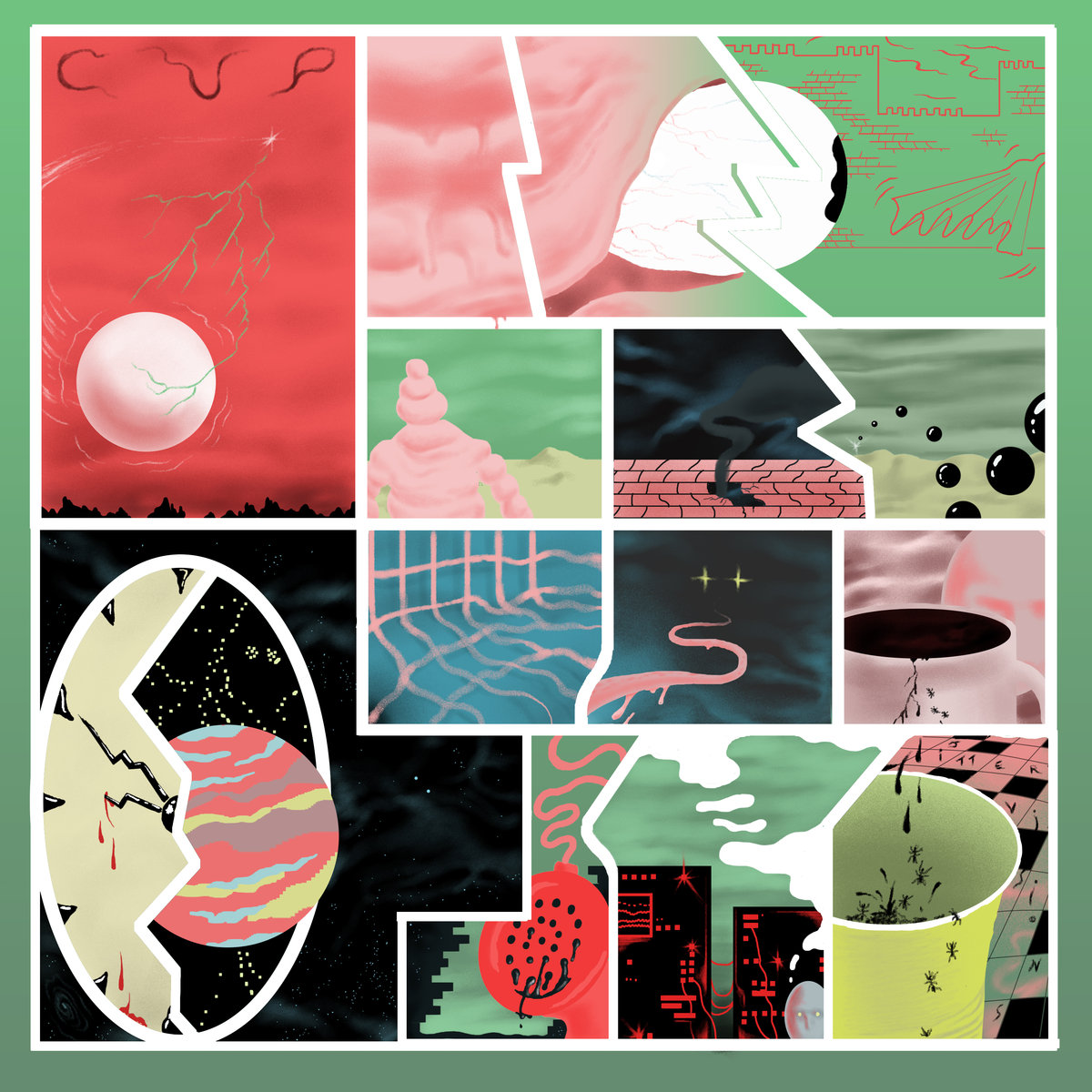CUP – Jitter Visions (Aagoo Records)