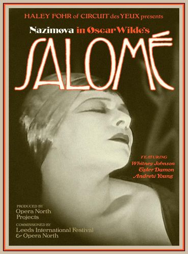 Salomé (1923) with live score – Howard Assembly Room, Leeds, 12/05/2018