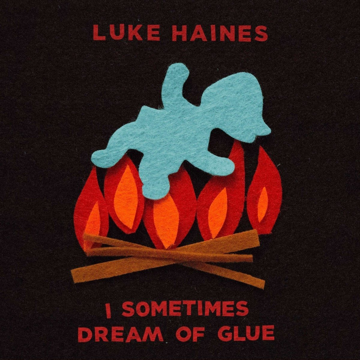 Luke Haines – I Sometimes Dream Of Glue (Cherry Red)