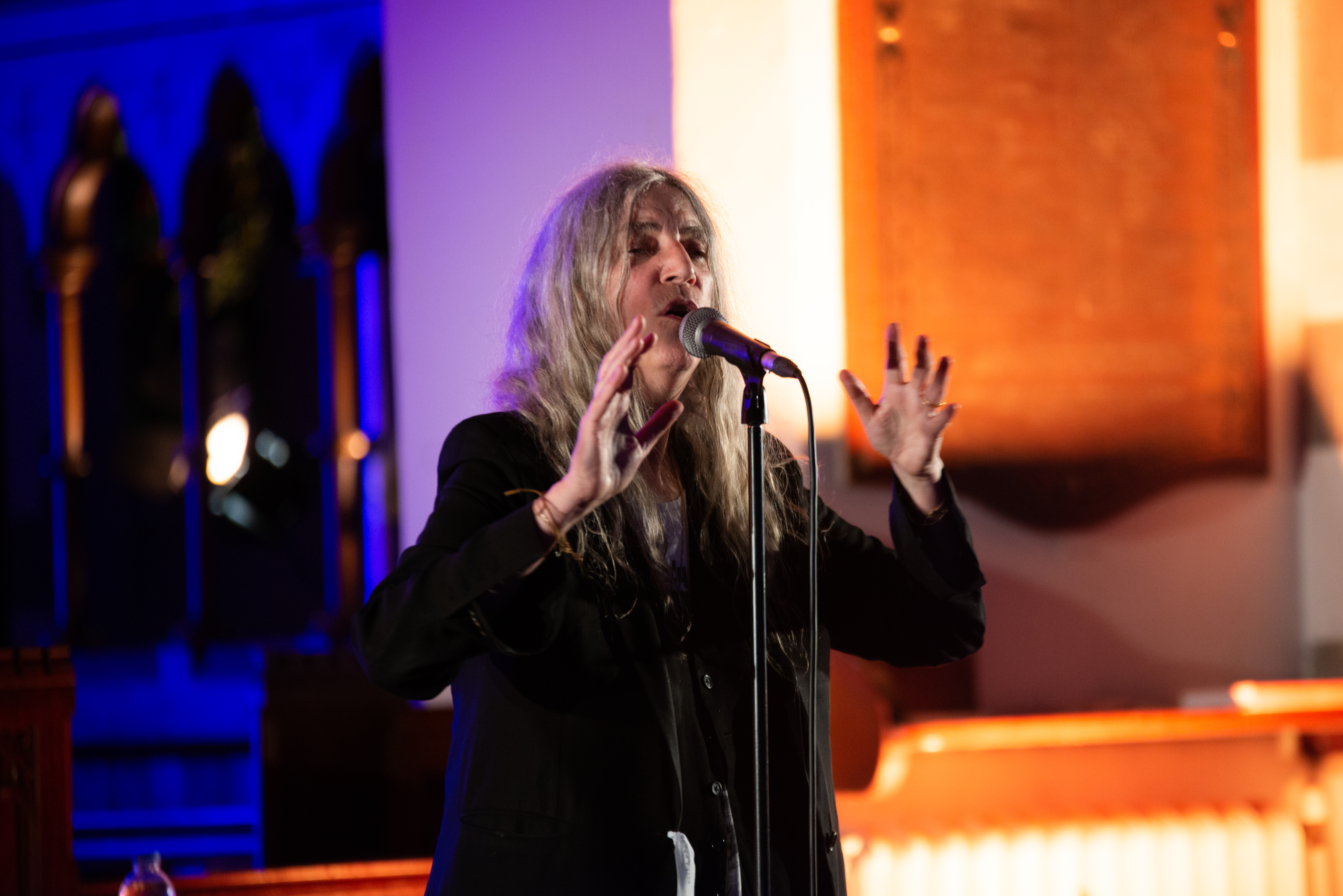 Patti Smith – Festival of Voice: St John's Church, Cardiff, 11/06/2018
