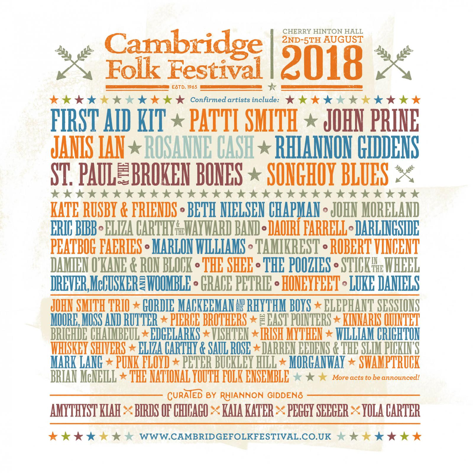 PREVIEW: 10 acts to see at Cambridge Folk Festival 2018