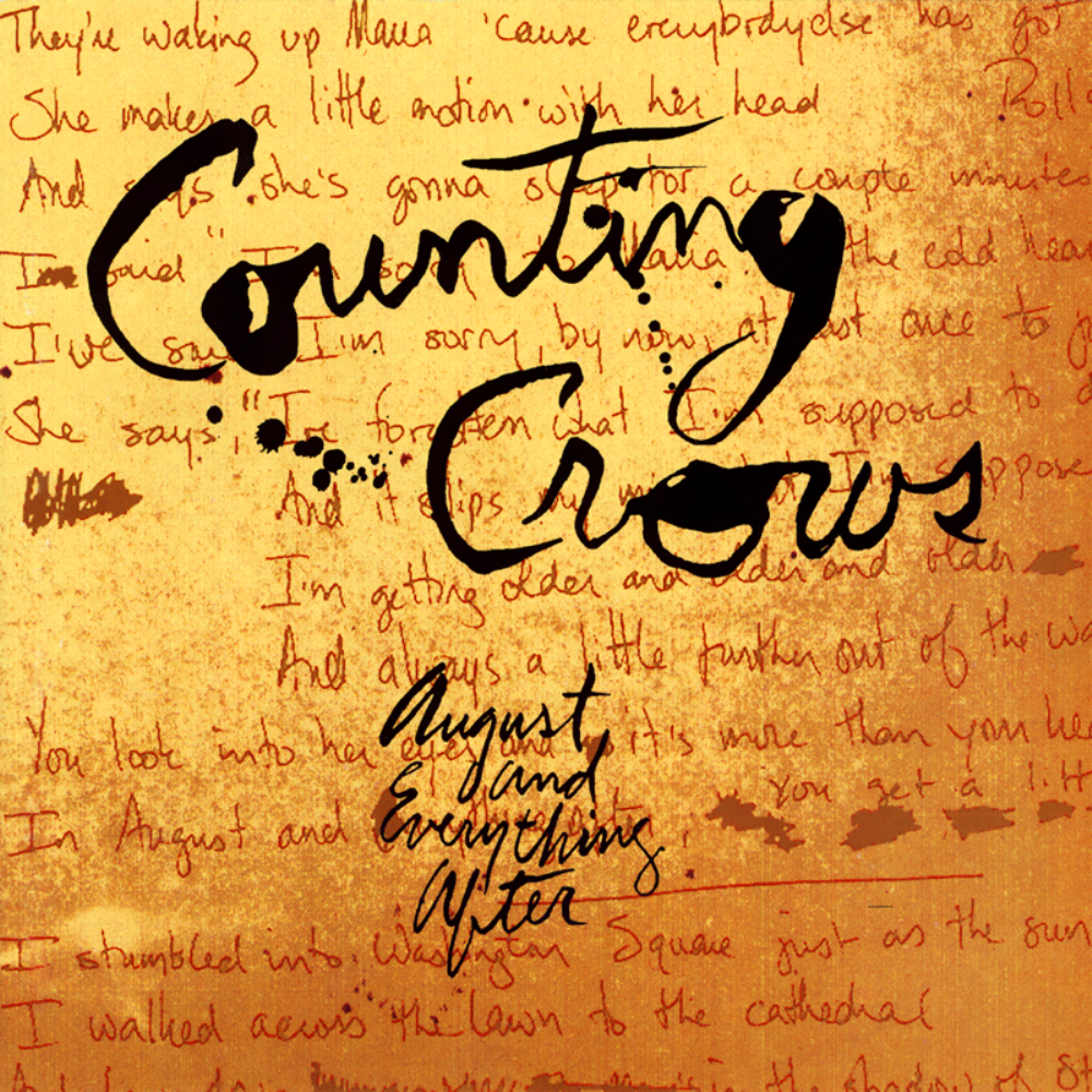 From the Crate: Counting Crows – August and Everything After