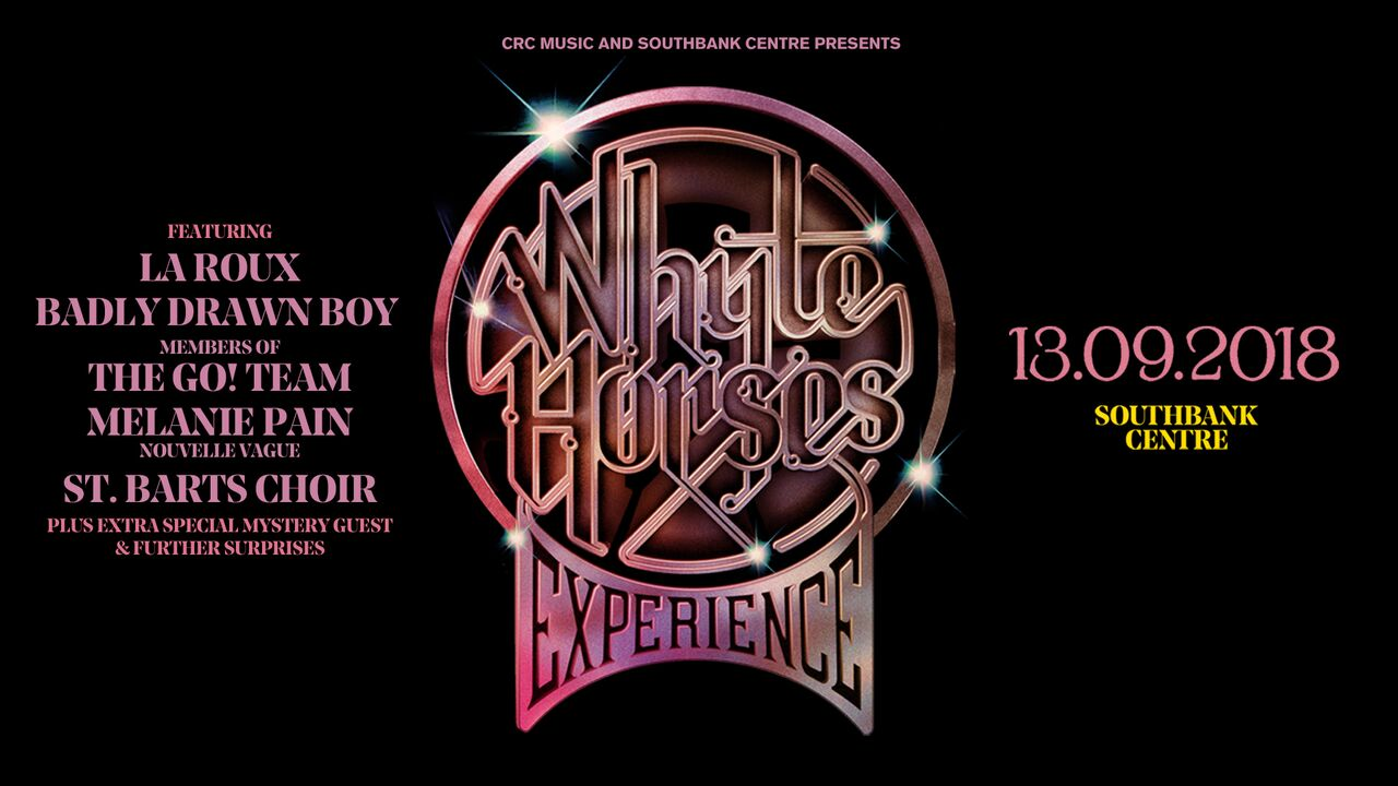 Whyte Horses Experience – Southbank Centre, London, 13/09/2018