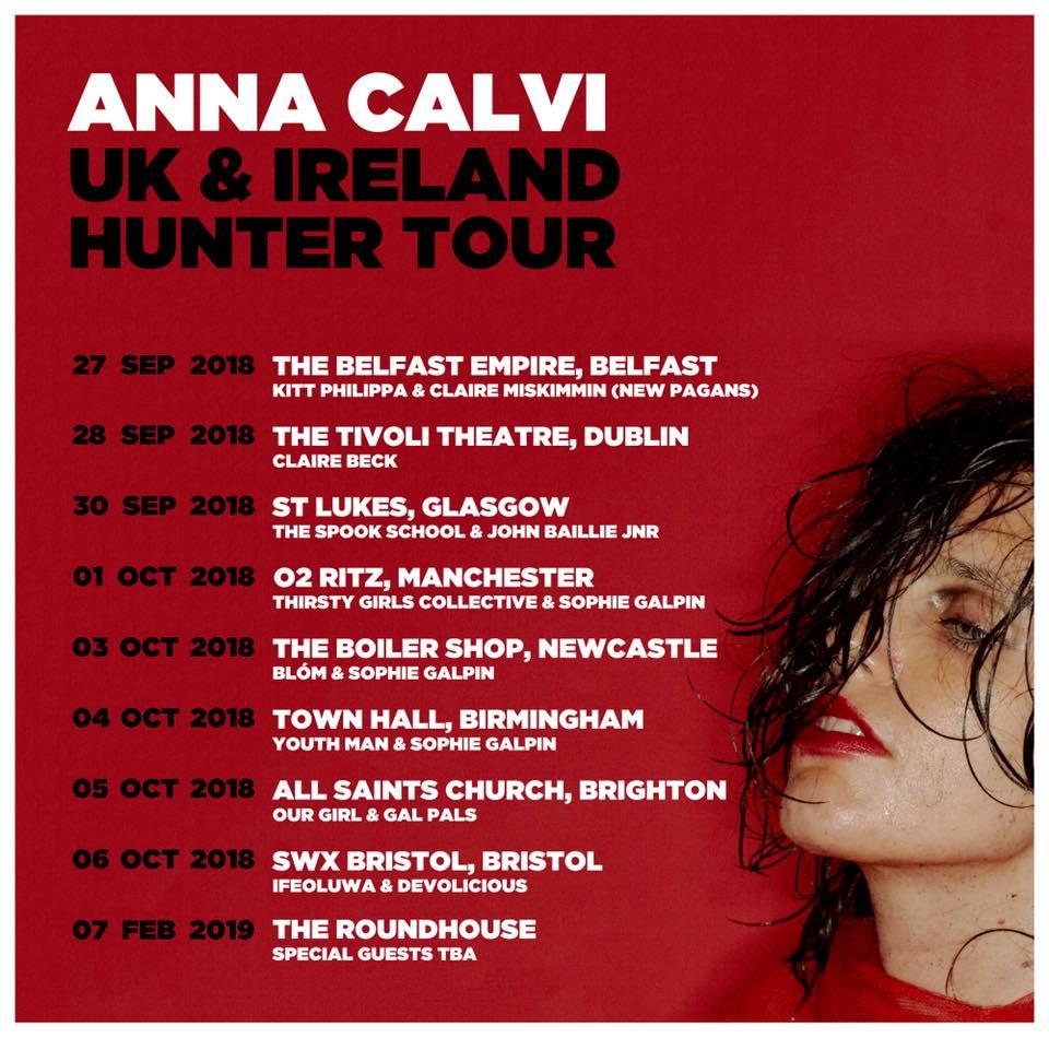 Anna Calvi – Manchester O2 Ritz, 01/10/2018