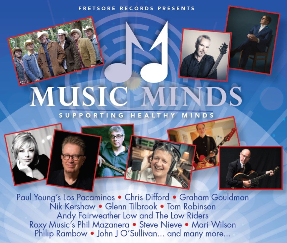 Music Minds to release 50 song compilation in aid of Mental Health charities