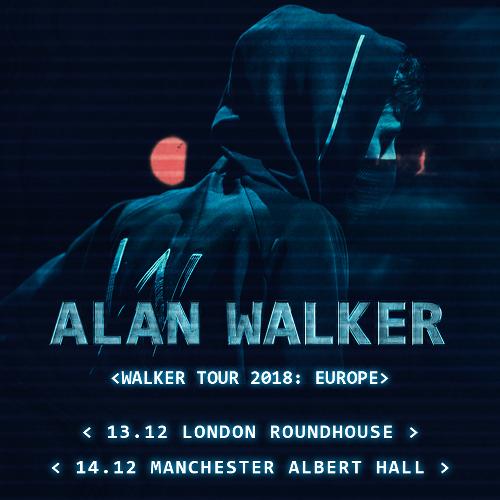 Alan Walker – Albert Hall, Manchester, 14/12/2018