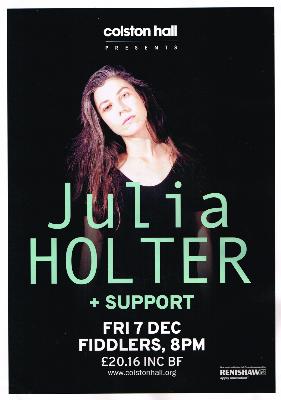 Julia Holter – Fiddlers, Bristol, 07/12/2018